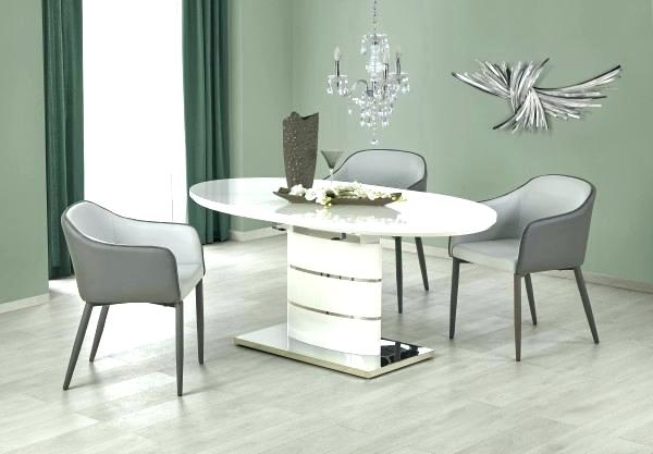 White Oval Dining Table Tables – Mirstudios (View 16 of 25)
