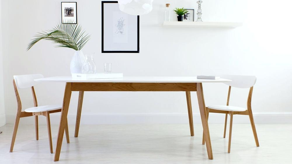 White Oval Extending Dining Table – 4Thofjulyusa Inside White Oval Extending Dining Tables (Image 21 of 25)