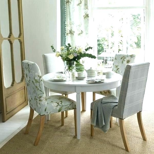 White Round Dining Room Table White Dining Room Table With Bench With Regard To Small Round White Dining Tables (View 11 of 25)