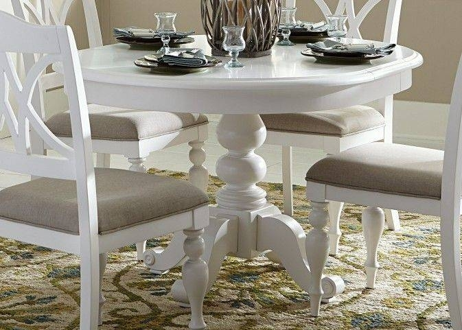 White Round Dining Table Lovely Awesome Round White Dining Table Set Intended For Round White Dining Tables (Image 23 of 25)