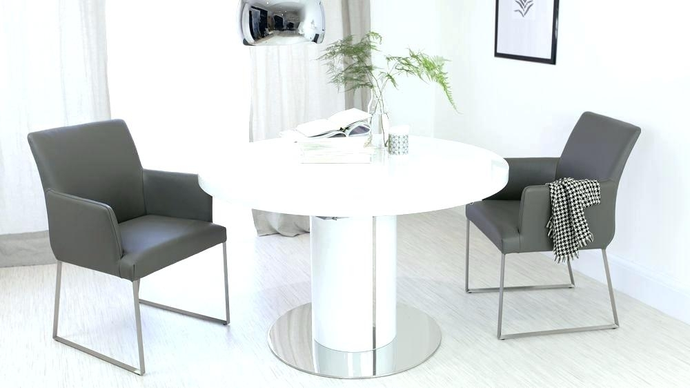 White Round Extending Dining Table – Emilytocco Regarding White Gloss Round Extending Dining Tables (View 12 of 25)