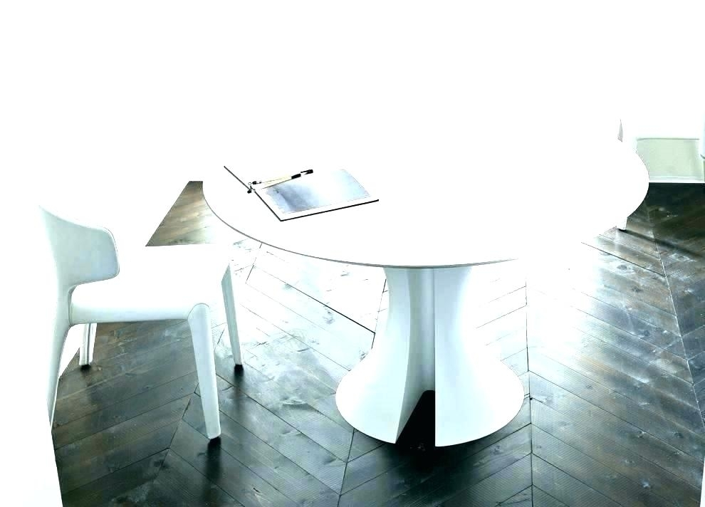 White Round Extending Dining Table – Emilytocco With Regard To White Round Extendable Dining Tables (Image 23 of 25)