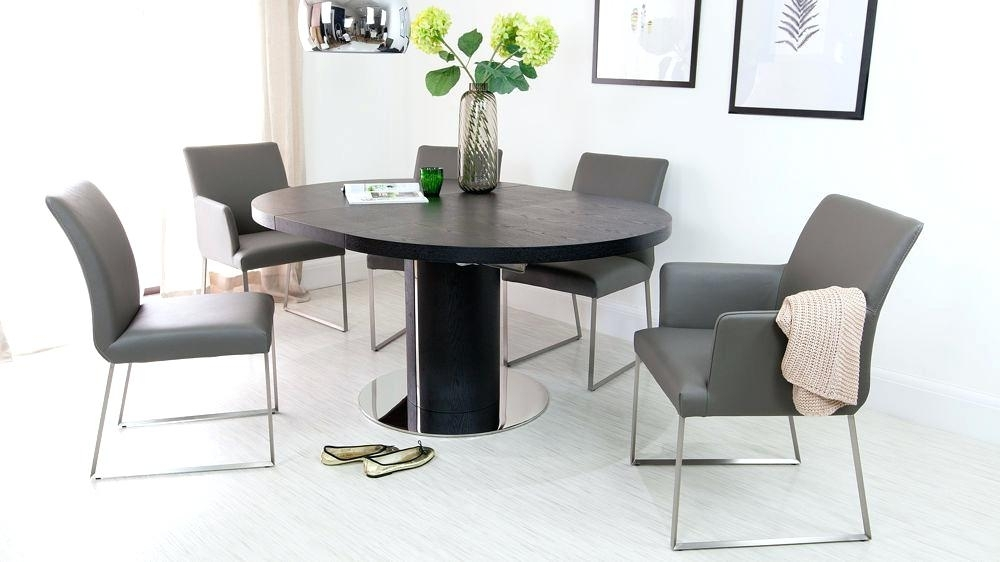 White Round Extending Dining Table Surprising Small Round Extendable With Regard To White Extending Dining Tables And Chairs (View 23 of 25)