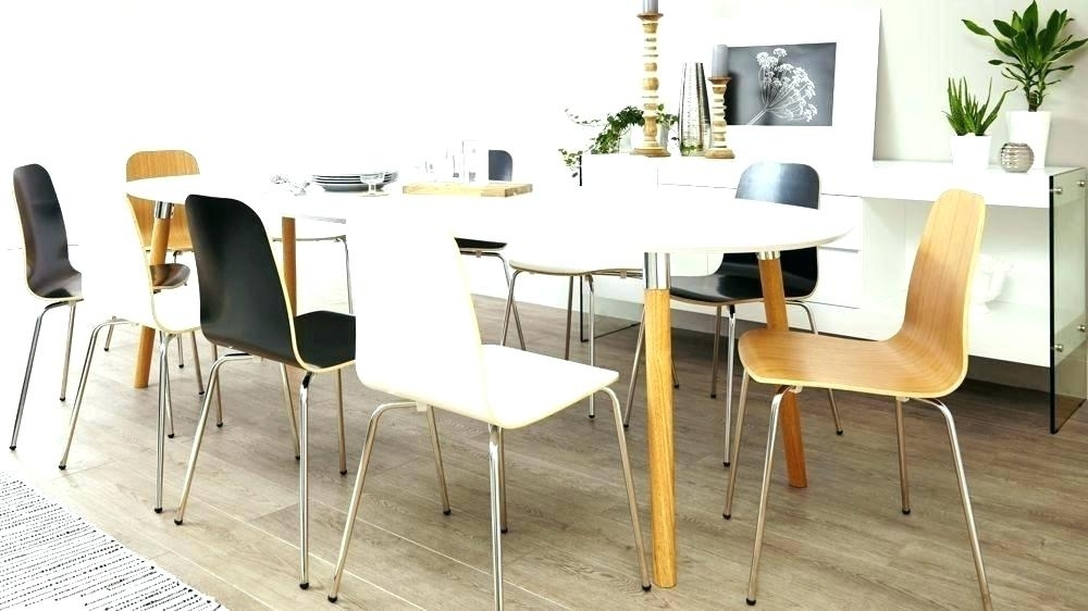 White Round Extending Dining Table White Dining Table Round With White Gloss Round Extending Dining Tables (View 21 of 25)