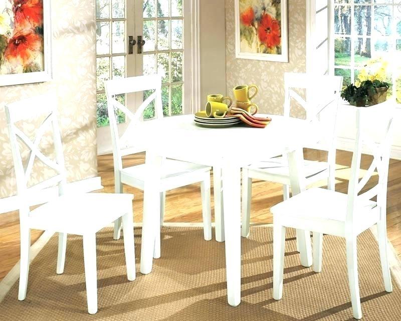 White Round Kitchen Table Kitchen Table Set White Round Kitchen With Small Round White Dining Tables (Image 25 of 25)