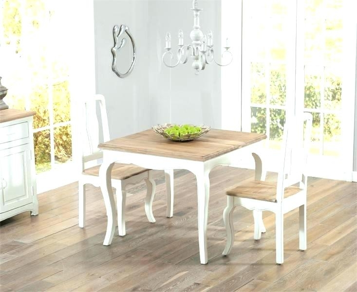 White Shabby Chic Dining Chairs – Kuchniauani Regarding Shabby Dining Tables And Chairs (View 25 of 25)