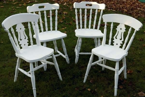 White Shabby Chic Dining Chairs Shabby Chic Dining Chairs Shabby With Shabby Chic Dining Sets (View 23 of 25)