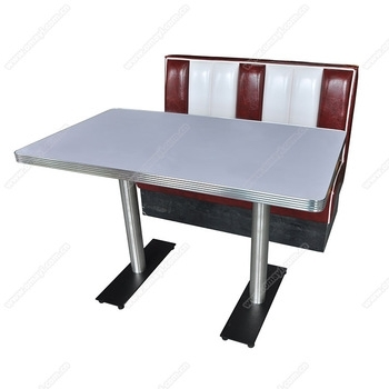 Wholesale American 1950S Retro Diner Table And Booth Furniture Set With Retro Dining Tables (Image 25 of 25)