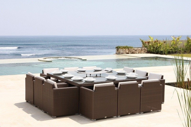 Why Choose Luxury Garden Furniture? – Luxury Furniture & Interior Throughout Garden Dining Tables And Chairs (View 18 of 25)