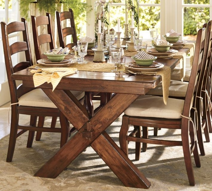 Why You Should Always Listen To Pottery Barn (A Bench Story Throughout Toscana Dining Tables (Image 25 of 25)