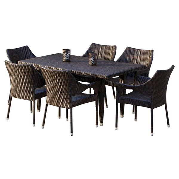 Wicker Patio Dining Sets You'll Love | Wayfair (Image 25 of 25)