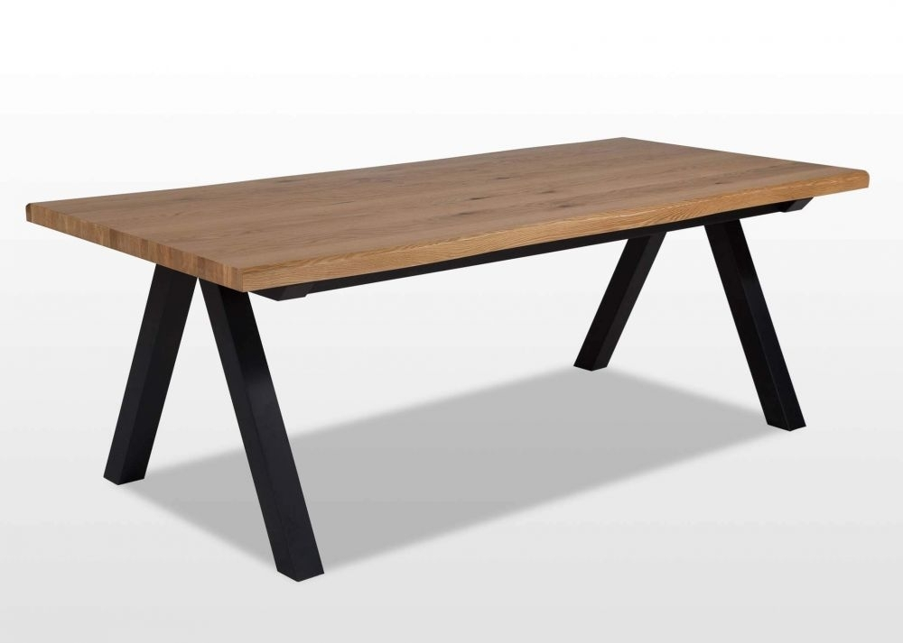 Wild White Oak Dining Table – Oliveto – Ez Living Furniture With Regard To Oak Dining Furniture (View 17 of 25)