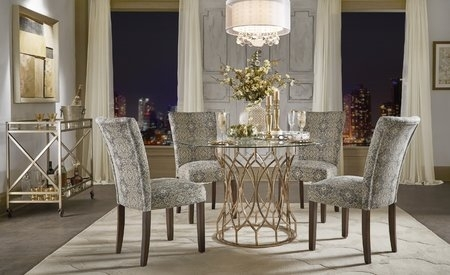 Willa Arlo Interiors Keeley Bar Cart & Reviews | Wayfair Pertaining To Palazzo 7 Piece Rectangle Dining Sets With Joss Side Chairs (Image 25 of 25)