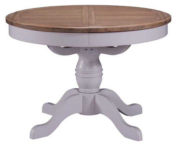 Wiltshire Round Extending Dining Table (Image 25 of 25)