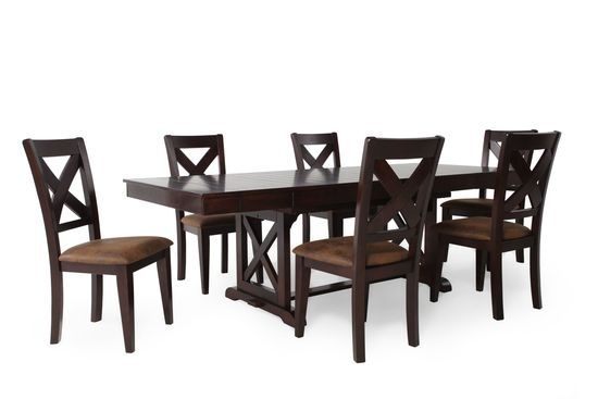 Winners Only Java Seven Piece Dining Set | House | Pinterest Intended For Chapleau Ii 9 Piece Extension Dining Tables With Side Chairs (View 8 of 25)