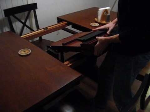 Winnersonly Butterfly Leaf Table – Youtube Regarding Pelennor Extension Dining Tables (Image 25 of 25)