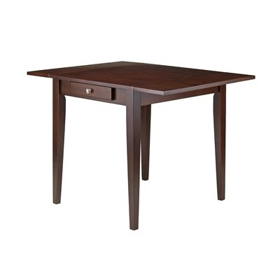 Winsome Wood 94141 Hamilton Double Drop Leaf Dining Table | Lowe's Inside Cheap Drop Leaf Dining Tables (View 18 of 25)