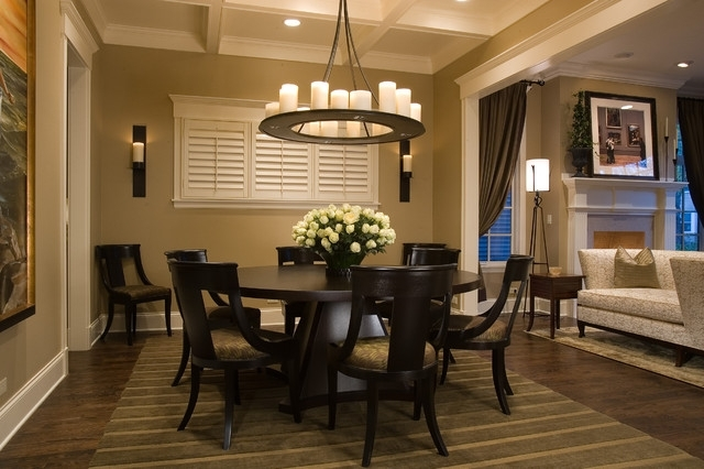 Wolfram Dining Room In Chapleau Ii 9 Piece Extension Dining Tables With Side Chairs (Image 25 of 25)