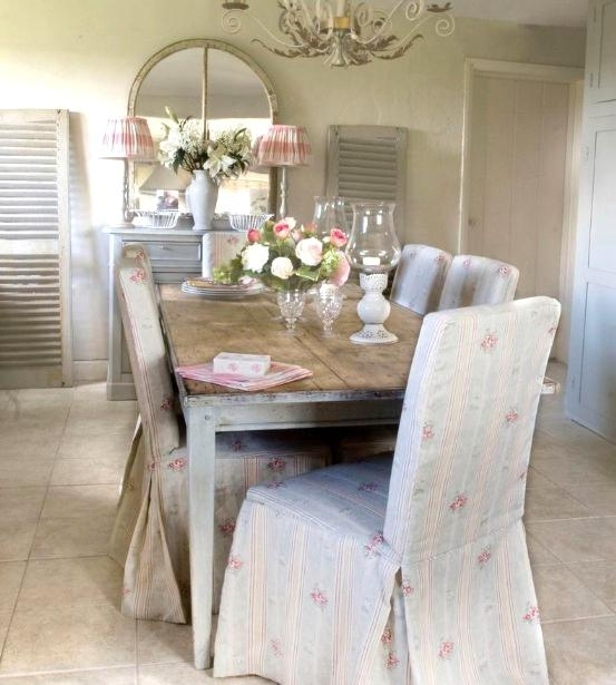 Wonderful Chic Dining Chairs Rooms Iring Shabby Chic Dining Room Throughout Shabby Chic Dining Chairs (View 13 of 25)