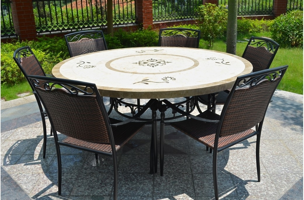 Wonderful Decoration Mosaic Dining Tables Mosaic Dining Tables For Intended For Mosaic Dining Tables For Sale (View 10 of 25)