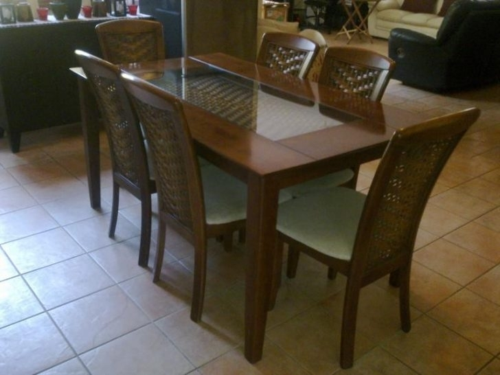 Wood And Glass Dining Table – Pannachapman Pertaining To Wooden Glass Dining Tables (View 12 of 25)