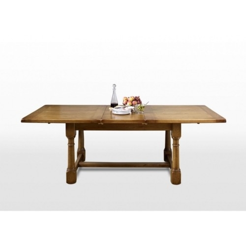 Wood Bros Chatsworth Extending Dining Table | Leekes With Chatsworth Dining Tables (Image 25 of 25)