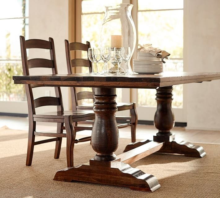 Wood Dining Table  Need For Every Family – Goodworksfurniture Regarding Wood Dining Tables (Image 24 of 25)