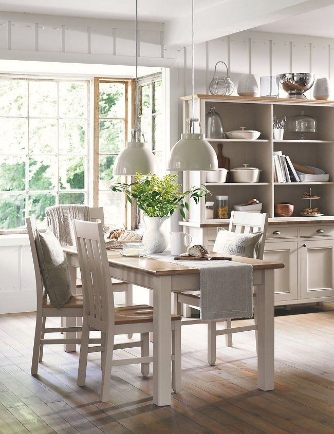 Wood Dining Tables Padstow From Marks And Spencer | Farm Tables For Helms 7 Piece Rectangle Dining Sets With Side Chairs (View 13 of 25)