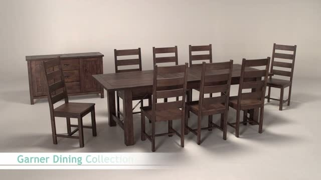 Wood Garner Extension Dining Table | World Market Pertaining To Market 7 Piece Dining Sets With Side Chairs (View 22 of 25)