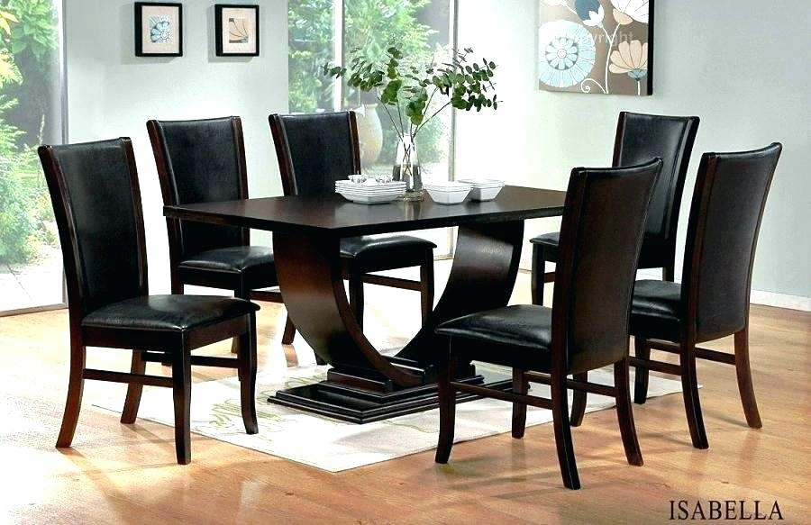 Wooden Dining Set Designs Designs For Dining Table And Chairs Black Inside Black Wood Dining Tables Sets (Image 25 of 25)
