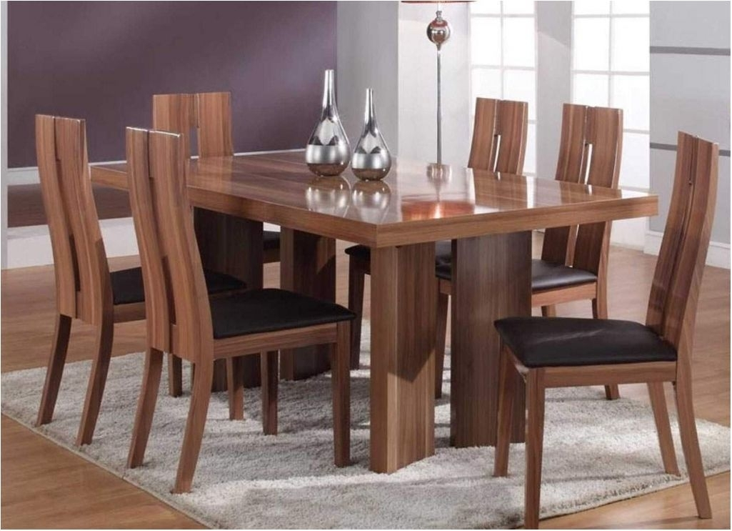 Wooden Dining Table Set Designs – Photos Table And Pillow Within Palazzo 6 Piece Rectangle Dining Sets With Joss Side Chairs (Image 25 of 25)