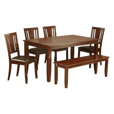 Wooden Importers Dudley 6 Piece Dining Set | Products | Pinterest With Regard To Wyatt 6 Piece Dining Sets With Celler Teal Chairs (Image 21 of 25)