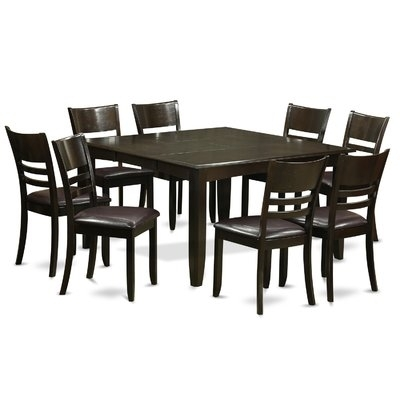 Wooden Importers Parfait 9 Piece Dining Set In 2018 | Products Throughout Craftsman 9 Piece Extension Dining Sets (View 14 of 25)
