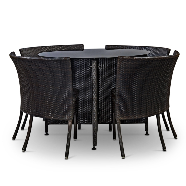 Woodofa Compact Outdoor Garden Furniture Dining Set Pertaining To Compact Dining Sets (Image 24 of 25)