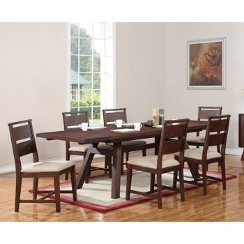 """Woodrow @ Costco. Table And 6 Chairs $1269.99. 76""""/88""""/100"""" (View 11 of 25)"""
