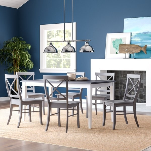 Wrought Iron Dining Room Sets | Wayfair Inside Market 7 Piece Dining Sets With Host And Side Chairs (View 7 of 25)