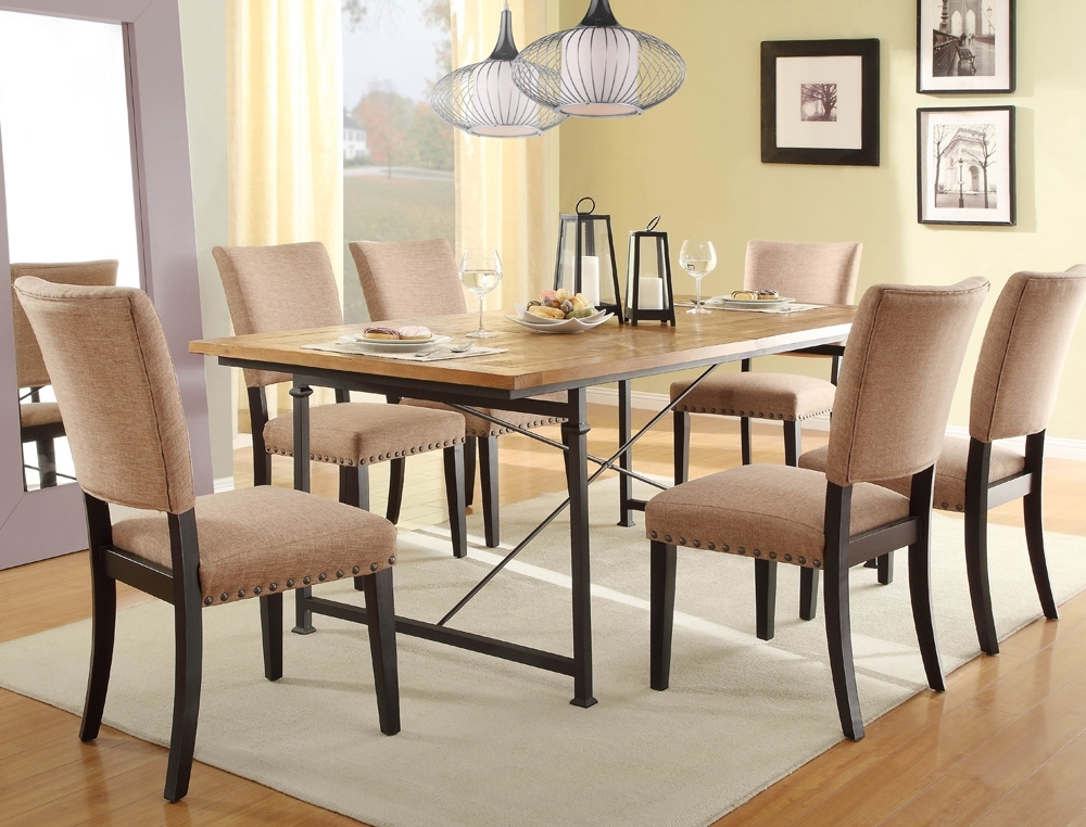 Wrought Iron Dining Table Set Chintaly Bethel 5 High End Dining Chairs In Smartie Dining Tables And Chairs (View 7 of 25)
