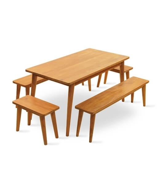 Wyatt Teak Dining Table Throughout Wyatt Dining Tables (Image 25 of 25)