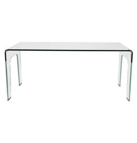 York Curved Glass Dining Table Main Image | Unit Ideas | Pinterest Within Curved Glass Dining Tables (View 25 of 25)