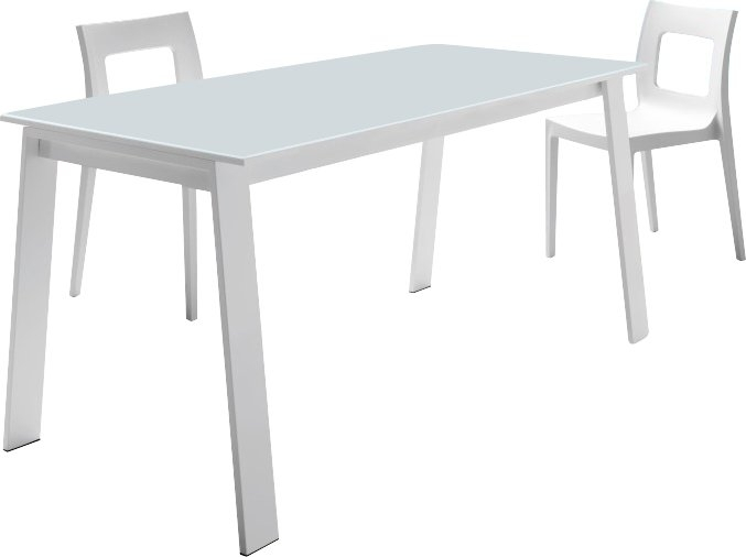 Yumanmod Alpha Extendable Dining Table | Wayfair Regarding Jaxon Grey Rectangle Extension Dining Tables (View 10 of 25)
