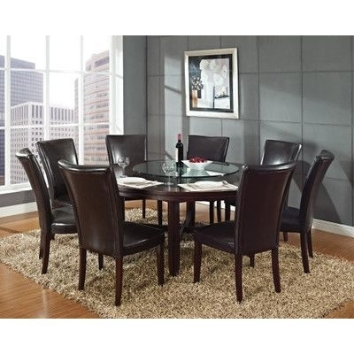 Zipcode Design 9 Piece Dining Set | Products | Pinterest | Products In Caden 5 Piece Round Dining Sets With Upholstered Side Chairs (View 10 of 25)