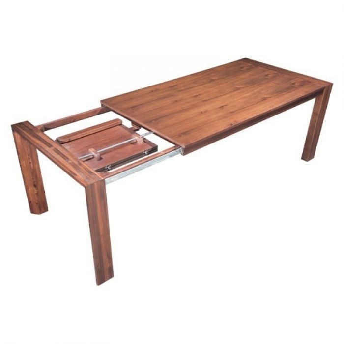 Zuo Modern 100588 Perth Extension Dining Table - Chestnut regarding Perth Dining Tables