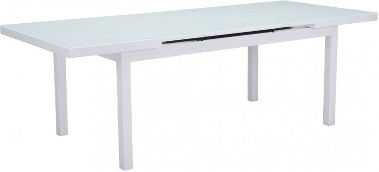 Zuo Modern Mayakoba White Extendable Dining Table – Mayakoba In White Extendable Dining Tables (Image 25 of 25)
