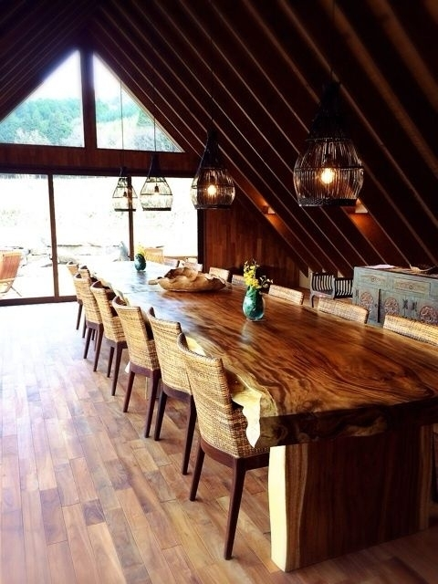 Zwaartafelen I Inspiratie Suarhout I Superlange Tafel Met Donker intended for Balinese Dining Tables