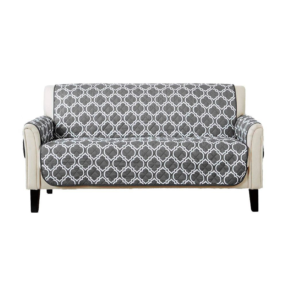 10 Best Sofa Covers In 2019 – Top Rated Couch & Chair Slipcovers With Regard To Lucy Dark Grey Sofa Chairs (Image 1 of 25)