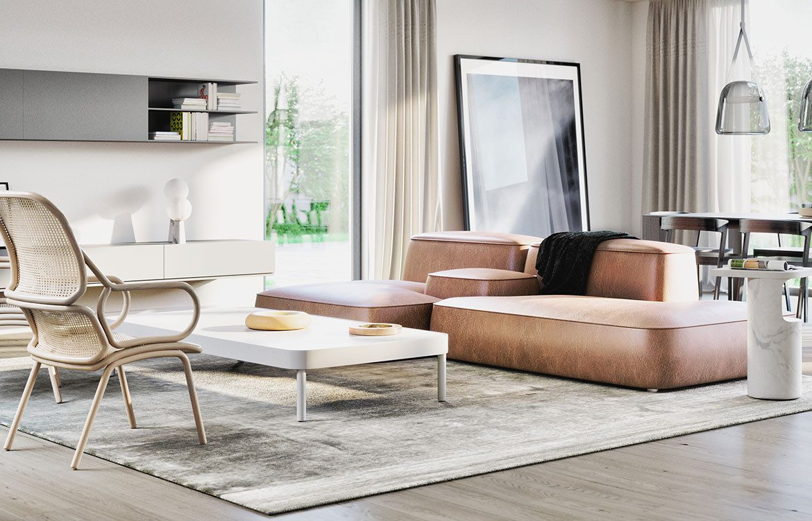 10 Design Commandments For Apartment Furniture Design | Habitus Living For London Optical Sofa Chairs (Image 1 of 25)