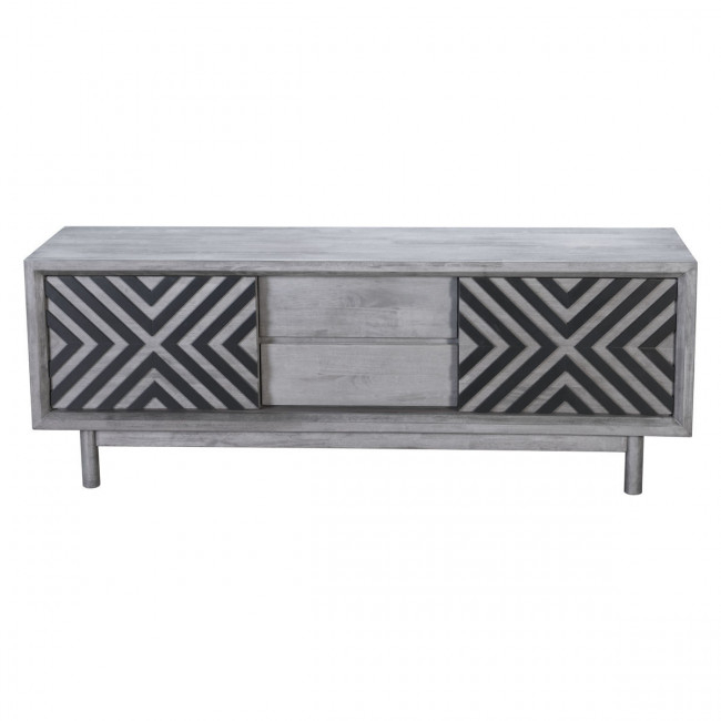 100971 – Raven Tv Stand Old Gray Within 2018 Raven Grey Tv Stands (Image 2 of 25)