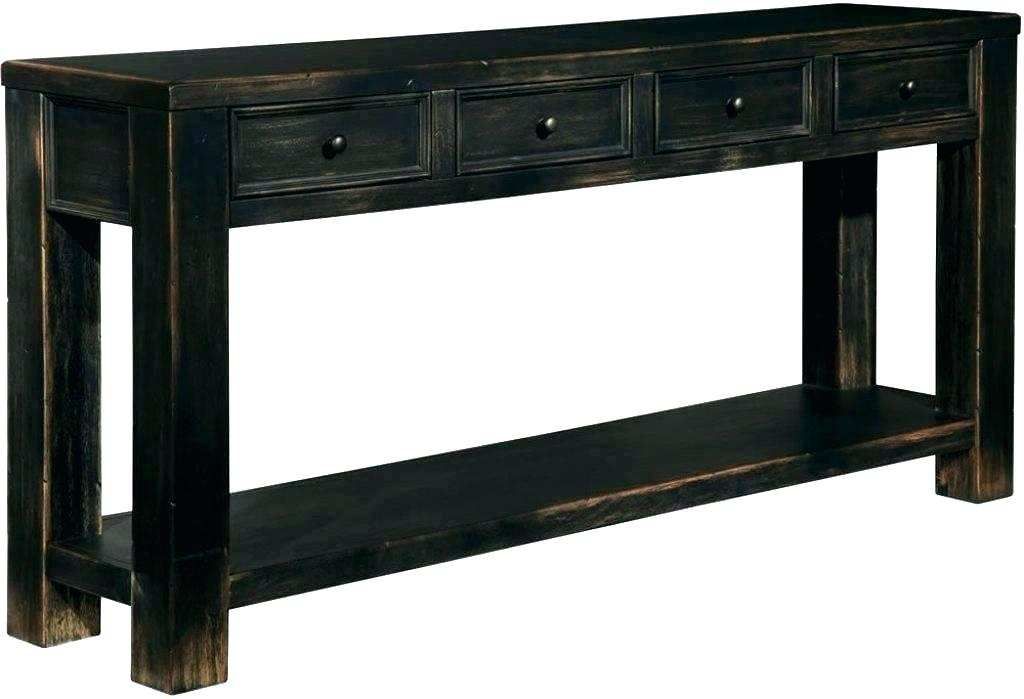 12 Deep Console Table Cabinet Inch Sideboard Echelon Less Than with regard to Preferred Echelon Console Tables
