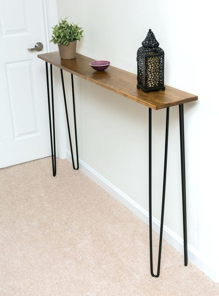 12 Inch Deep Console Table – Globalhands (Image 3 of 25)