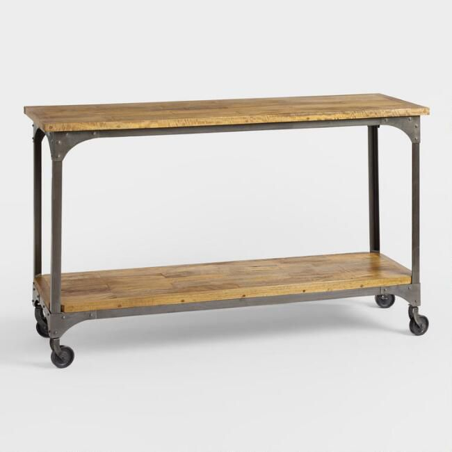13 Pretty Console And Entry Tables For Your Home Intended For Popular Intarsia Console Tables (Image 2 of 25)